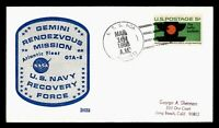 DR WHO 1966 USS NOA NAVY SHIP RECOVERY FORCE GEMINI MISSION