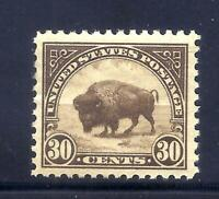 US STAMPS   569   MNH    30 CENT AMERICAN BUFFALO ISSUE   CV