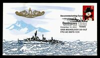 DR WHO 2002 USS NICHOLSON NAVY SHIP DECOMMISSIONED C204536