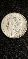1887S MORGAN SILVER DOLLAR