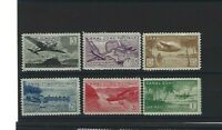 CANAL ZONE CLASSIC MID CENTURY AIRMAILS C15 C20 COMPLETE MH