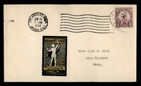 DR WHO 1932 FDC OLYMPICS SPORTS LOS ANGELES LABEL  F34223