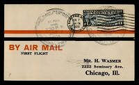 DR WHO 1926 ST. PAUL MN FIRST FLIGHT AIR MAIL C203540