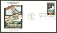 2074 SOIL & WATER CONSERVATION COLLINS FDC