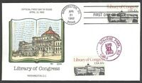 2004 LIBRARY OF CONGRESS COLLINS FDC