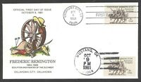 1934 FREDERIC REMINGTON SCULPTOR AND PAINTER OF THE OLD WEST