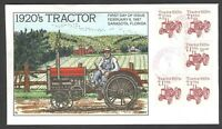 2127 1920'S TRACTOR COLLINS FDC