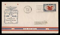 DR WHO 1938 FDC DAYTON OH 6C AIRMAIL NAMW AIRMAIL WEEK CACHE