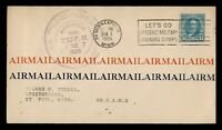 DR WHO 1926 MINNEAPOLIS MN FIRST FLIGHT AIR MAIL C205037