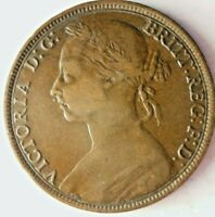 1889 GREAT BRITAIN PENNY   UNCOMMON DATE   GREAT QUALITY COI