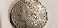 1902 S  MORGAN DOLLAR BU CLEAN  CHEEK AND  FIELDS  FEATHERS