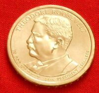 2013 THEODORE ROOSEVELT PRESIDENTIAL $1 COIN,  P,  PHILADELPHIA MINT, FREE SHIP