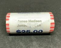 PRESIDENTIAL DOLLARS ROLL OF 25 - JAMES MADISON 2007  AIR TIGHT SEALED