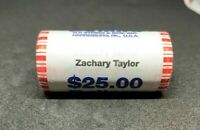 PRESIDENTIAL DOLLARS ROLL OF 25 - ZACHARY TAYLOR 2009  AIR TIGHT SEALED