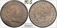 1797 P SILVER DOLLARS DRAPED BUST PCGS EXTRA FINE -40 9X7 LARGE LETTERS