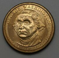 2007-P GEORGE WASHINGTON $1 DOLLAR COIN WITH CLEAR PROTECTIVE CASE
