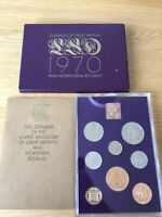ROYAL MINT PROOF COIN SET 1970. COINAGE OF GREAT BRITAIN AND