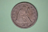 1875 S TWENTY CENT PIECE  STRONG DETAILS.  FROM LOCAL COLLEC