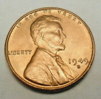 1949 S LINCOLN WHEAT CENT / PENNY COIN  FINE OR BETTER  SHIPS FREE