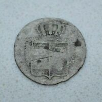 OLD 1815 GERMAN STATES GERMANY OLDENBURG 2 GROTE  18 WITTEN  SILVER COIN