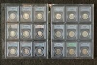 1964 TO 2014 S KENNEDY HALF DOLLAR SET PCGS PROOF AND UNCIRC