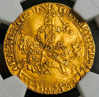 1364 ROYAL FRANCE JOHN II. STUNNING GOLD