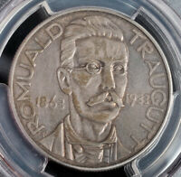 1933 POLAND  2ND REP. . SILVER 10 ZLOTYCH