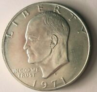 1971 S UNITED STATES SILVER DOLLAR   EISENHOWER COIN   LOT O