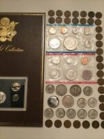 SILVER COIN LOTS AND PROOF SETS  SILVER HALF DOLLARS PROOFS