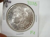 1900-O MORGAN DOLLAR  3338