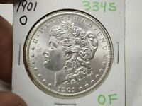 1901 O MORGAN DOLLAR SILVER COIN  3345