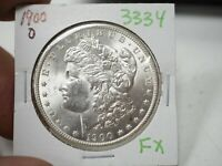 1900-O MORGAN DOLLAR  3334