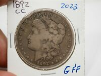 1892 CC UNITED STATES MORGAN SILVER DOLLAR,  2023