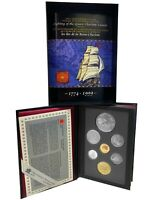 1999 ROYAL CANADIAN MINT PROOF SET COINAGE 7 COIN  SET STERL
