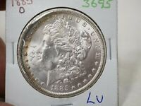 1885-O $1 MORGAN SILVER DOLLAR  3695