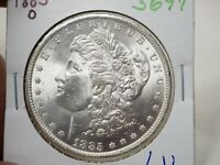 1885-O $1 MORGAN SILVER DOLLAR  3697
