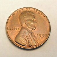 1948 S LINCOLN WHEAT CENT / PENNY BU / MS RB - MINT STATE RED BROWN  FREE SHIP