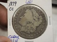 1879 CC MORGAN DOLLAR SILVER 1 CARSON CITY  10