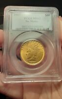 1907 $10 GOLD INDIAN MS 63 PCGS GORGEOUS COLOR AND SURFACE