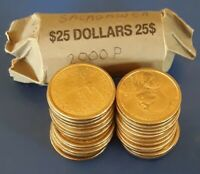 2000 P CIRCULATED ROLL OF $25 SACAGAWEA NATIVE AMERICAN $1 D