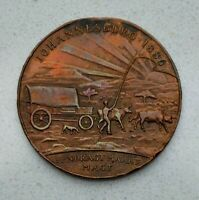 OLD SOUTH AFRICA AFRICAN 1936 EMPIRE EXHIBITION MEDAL BY NAYLOR  NICE
