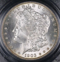 1903 O MORGAN SILVER DOLLAR COIN PCGS MINT STATE 63