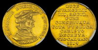 1819 SWITZERLAND ZURICH DUCAT GOLD NGC MS63 GEM UNCIRCULATED