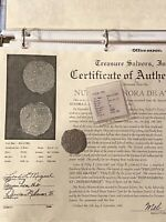 ATOCHA 4 REALES W/FISHER COA  THE ST MOST DESIRABLE ATOCHA COINS FOR JEWELRY