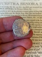 ATOCHA 2 REALES W/FISHER COA / THE ST MOST DESIRABLE COINS FOR JEWELRY