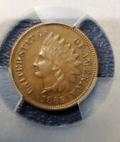 1869 INDIAN HEAD CENT     PCGS XF45