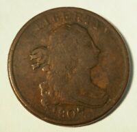 1807 HALF CENT - 1/2 C- LATE STATE - 232