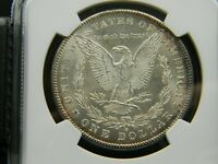 1878-S MORGAN SILVER DOLLAR NGC MINT STATE 62