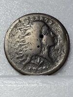 1793 FLOWING HAIR LARGE CENT  WREATH TYPE