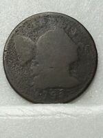 1795 FLOWING HAIR LARGE CENT HEAD OF 1795
